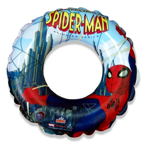 WDK Partner - 221112 - Jeu de Plein Air - Bouée gonflable Spiderman - D50cm