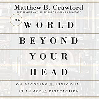 The World Beyond Your Head audiobook cover art
