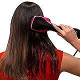 One Step Hair Dryer & Styler, Meraif Hot Air Paddle Brush Negative Ion