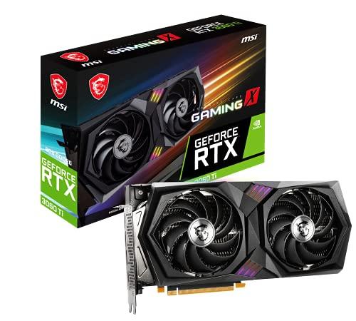 MSI GeForce RTX 3060 Ti GAMING X 8G LHR グラフィックスボード VD7721