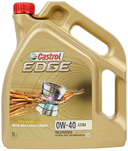 Castrol 24875 EDGE A3/B4 0W-40 A3/B4 Motorenöl 5L