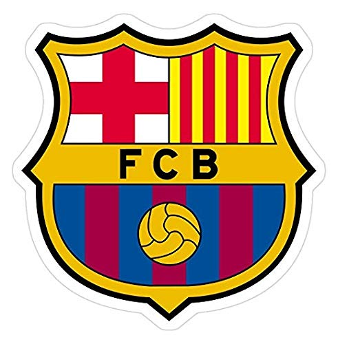 FC Barcelona Decal Sticker - Sticker Graphic - Auto, Wall, Laptop, Cell, Truck Sticker for Windows, Cars, Trucks