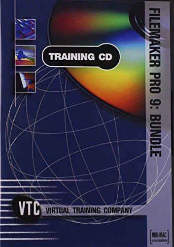 FileMaker Pro 9: Beginner, Intermediate and Advanced Bundle VTC Training CD