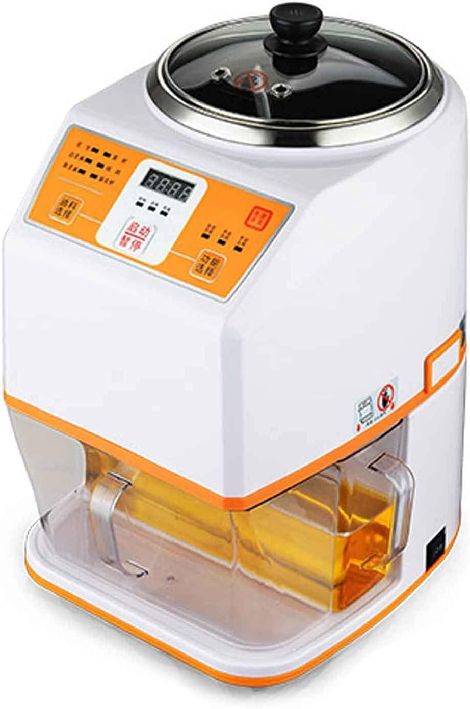 Máquina Automática para La Prensa De Aceite Extractor Prensa De Aceite Doméstica Pequeña Prensado En Frío Y Prensado En Caliente Control De Temperatura Preciso 25x35x42cm