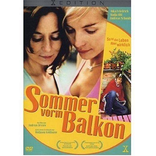 Sommer vorm Balkon
