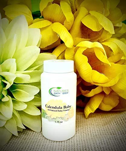 All-Natural Calendula Baby Powder