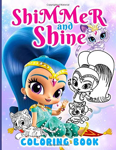 Shimmer And Shine Coloring Book: Shimmer And Shine Adults