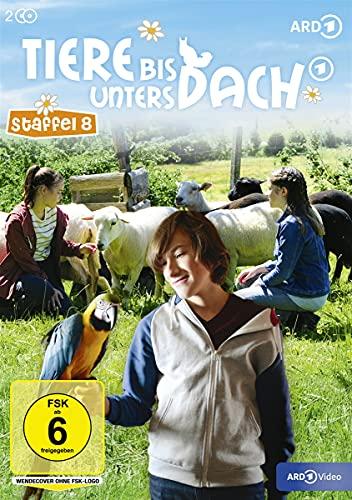 Tiere bis unters Dach - Staffel 8 [2 DVDs]