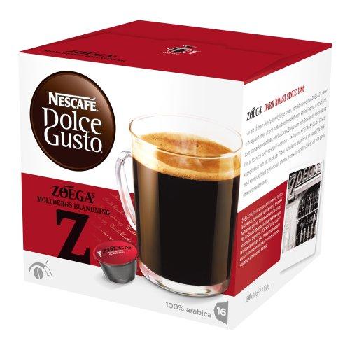 Nescafé Dolce Gusto Zoegas Mollbergs Blandning, Kaffee, Kaffeekapsel, 16 Kapseln