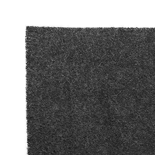 TronicXL Profi Fett + Aktivkohlefilter 57x47cm Dunstabzugshauben Filter Dunstabzugshaube für Siemens Miele Bosch AEG Samsung Neff zuschneidbar 2 Stück Fettfilter Universal Filtermatte