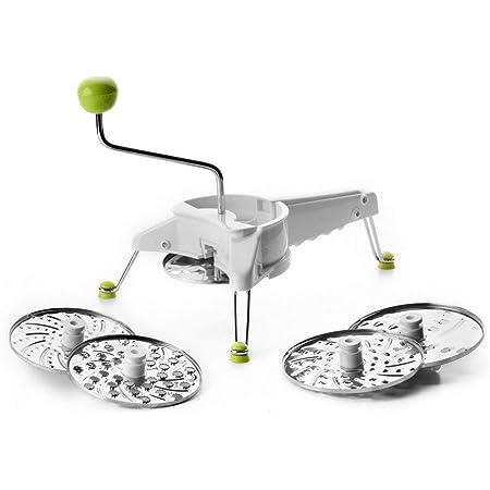 IBILI 796400 Mouli Julienne, Autre, Blanc/Vert/Argent