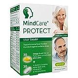 MindCare PROTECT, mente acuta - integratore per cervello attivo e per...