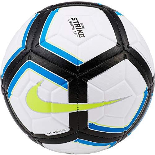 Nike Unisex– Erwachsene NK Strk Team 290G-SZ 4 Fußballbälle, White/Photo Blue/Black/Volt, 4