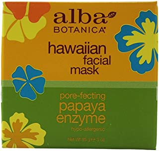 Alba Botanica Hawaiian Papaya Enzyme Facial Mask - 3 oz pack of - 1