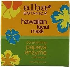 Alba Botanica Hawaiian Papaya Enzyme Facial Mask - 3 oz pack of - 1