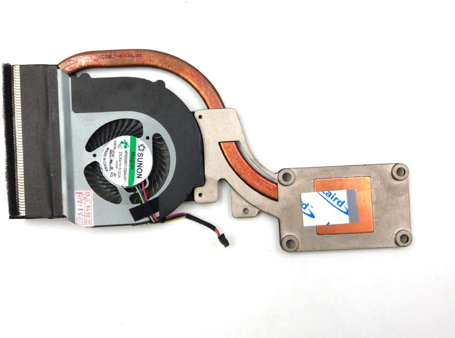 LPH Replacement CPU Fan for Dell Latitude E6440 Laptop, Integrated Graphics Laptop Cooling Fan + Heatsink Assembly 0VTNGR