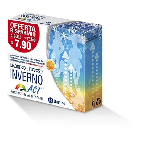 ACT, Magnesio Potassio Inverno - 14 Bustine