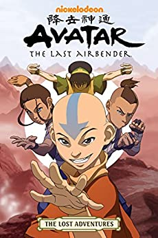 Avatar: The Last Airbender - The Lost Adventures by [Aaron Ehasz, Josh Hamilton, Tim Hedrick, Dave Roman, J. Torres, Various]