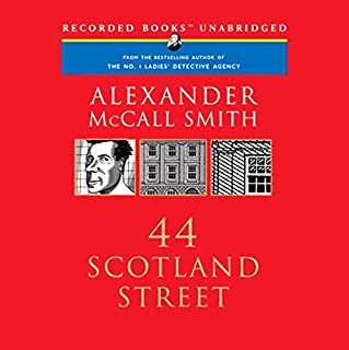 44 Scotland Street audiobook cover art