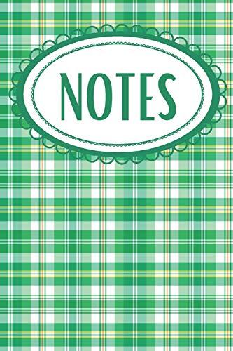 Irish Plaid Notebook: For Ireland Lovers