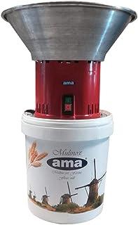LEM Select Moulin à Grain pour Usage Alimentaire trémie INOX 1.6 HP 220 V 16 Lt