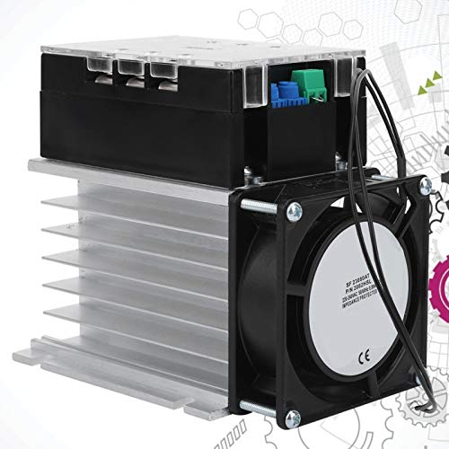 Accesorios eléctricos con fondo de aluminio trifásico Controlador de arranque suave Placa...