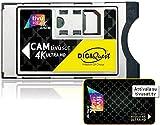 Tivusat SmarCam 4K Ultra HD CI+ - Scheda smartcard attiva TiVu