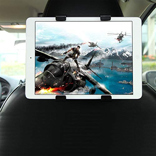 Beonfive - Soporte para Coche Ajustable al Reposacabezas para Tablets de 7' a 10,1', DVD, ebook.