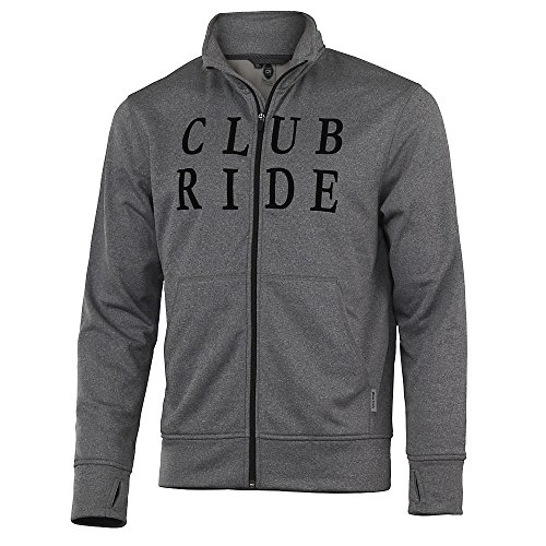 Club Ride Apparel New West Biking Shirt - Men's Short Sleeve Snap Down Cycling Jersey - Desert - L