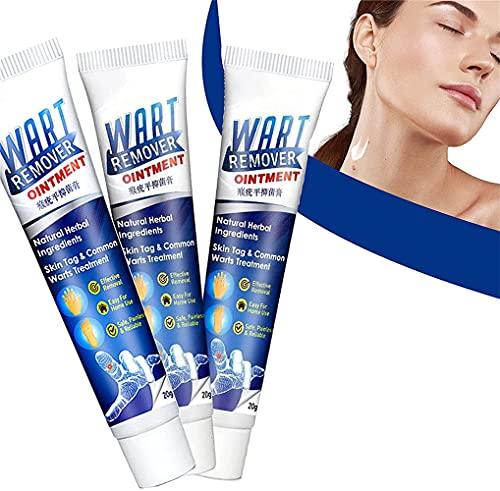 3pcs wrat verwijdering lichaam wratten behandeling Crea, moedervlek en huid tag Remover Cream, effectief en litteken-vrij, geschikt voor alle huidtypen