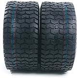 MOTOOS 2Pcs 18 x 8.50-8 Lawn Mower Tire 18/8.50/8 Tires Garden Tires Tubeless 18 8.50-8 4PR P512