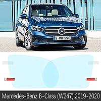 メルセデスベンツ b クラス W245 W246 W247 b-クラッセ B160 B180 B200 2009 ? 2020 フルカバーアンチフォグフィルム防雨車のアクセサリー-B-Class (W247) 19-20