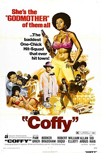 72251 COFFY Movie Blaxploitation Pam Grier Decor Wall 36x24 Poster Print
