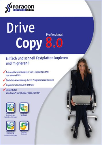 Paragon Drive Copy 8.0 Professional Edition