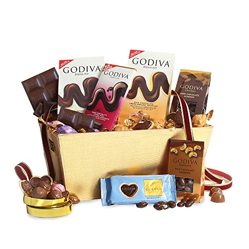 California Delicious Godiva Milk Chocolate Gift Basket