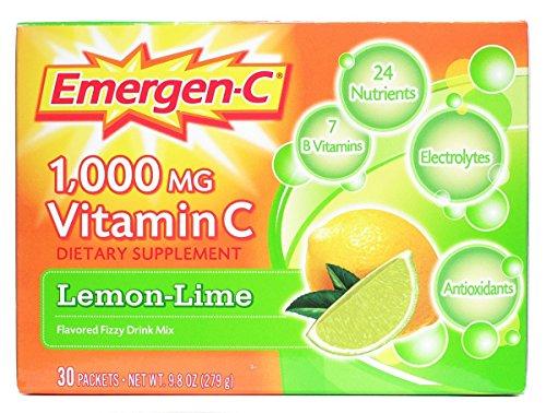 Emergen-C , Lemon Lime, 30 pkt (Multi-Pack)