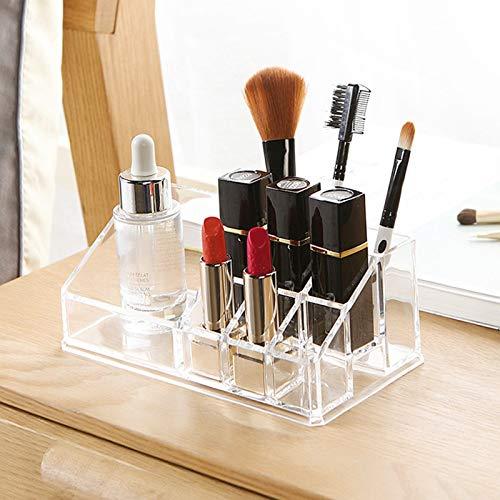 weifengji eauty Organizer Make Up Kosmetik Lippenstift Rack Transparent Schmink Aufbewahrung Kosmetikbox für Dresser Schlafzimmer Badezimmer