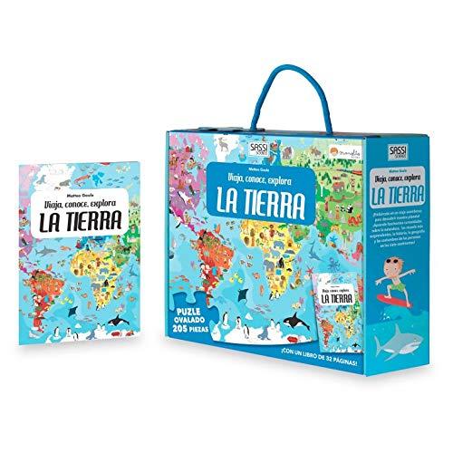 La tierra. Viaja, conoce, explora. Con puzzle. Edic. ilustrado (Español) (Viaja, conoce, explora Cuadrado)