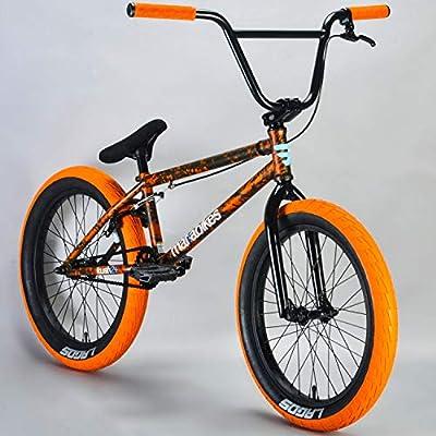 Mafiabikes Kush 2+ 20 inch BMX Bike Orange Splatter