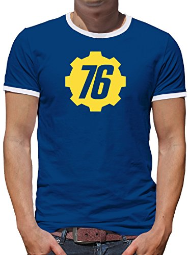 Shirt-People Vault 76 Tec Inc Kontrast - Camiseta para Hombre
