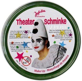 NET TOYS Maquillage de Carnaval Vert - Maquillage de déguisement - Maquillage Costume Vert - Maquillage - Make Up - Maquillage de fête costumée