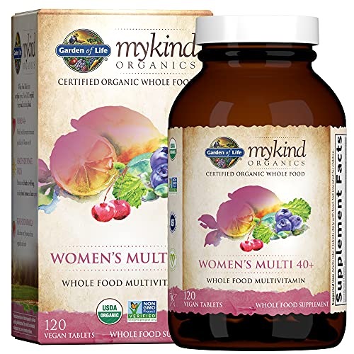 Garden of Life mykind Organics Vitamins for Women 40 Plus -...