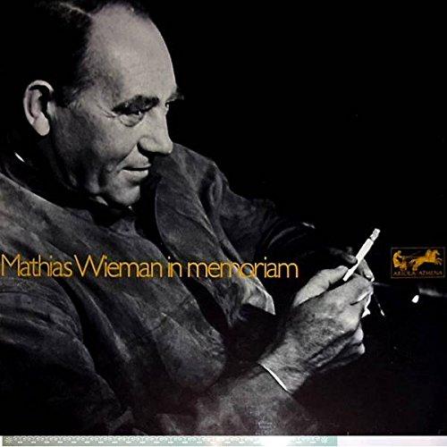 Mathias Wieman - In Memoriam - Schatzkästlein Deutscher Dichtung - Ariola-Athena - 80 204 ZW