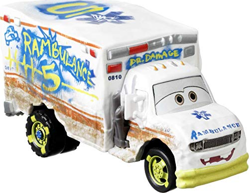 Disney and Pixar Cars Die-Cast Oversized Dr Damage Vehicle, Collectible Toy Truck Gifts for Kids Age 3 and Older