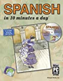 SPANISH in 10 minutes a day� with CD-ROM