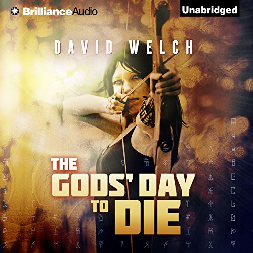 The Gods' Day to Die audiobook cover art