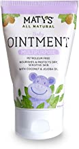 Maty's All Natural Baby Ointment, 3.5 oz, Petroleum Free, Safe for Cloth Diapers, Natural Alternative to Petroleum-Based Diaper Rash Creams, Safe for Sensitive Skin, Chemical & Fragrance Free