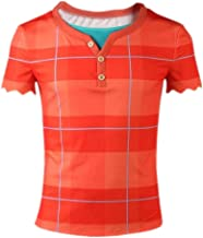 Wreck It Ralph Costume Halloween Cosplay Adult Overall Shirt Full Set Suit