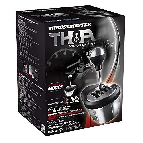 Thrustmaster TH8A - Palanca de cambio, Multiplataforma, Cambio Manual y Secuencial