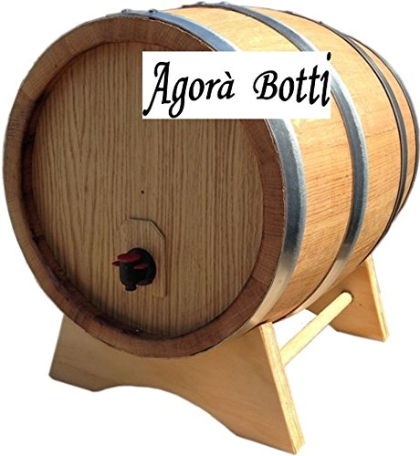 Agorà Botti Botte Bag in Box per Sacca da 20 Litri di Vino